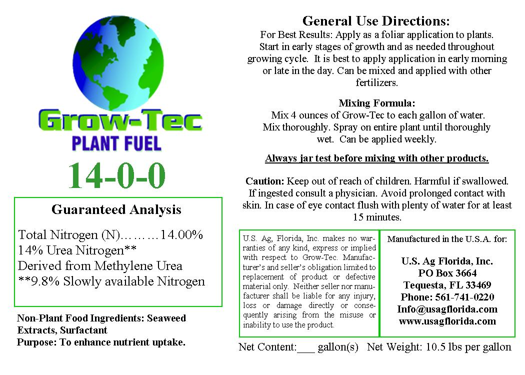 Grow Tec Label
