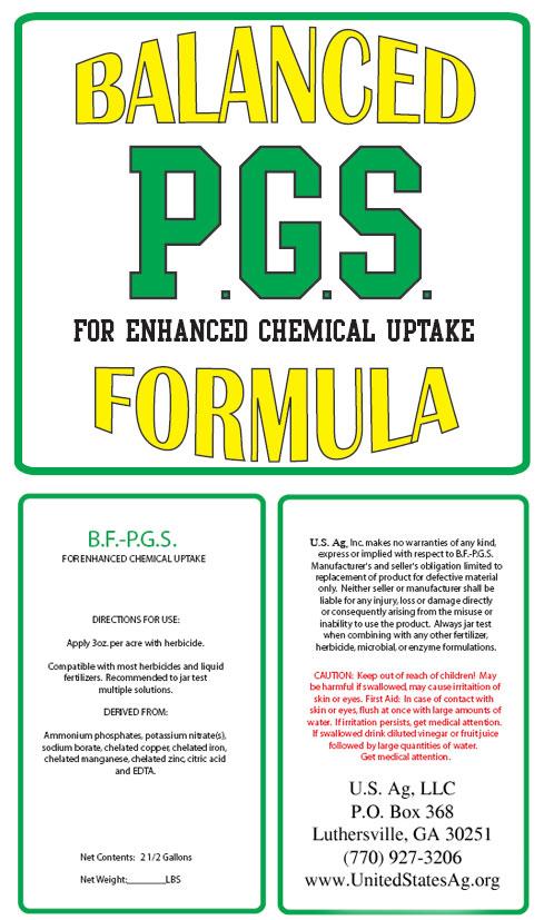 P.G.S. Plant Growth Stimulant Formula