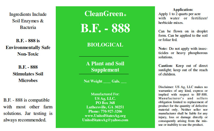 B.F. 888 Soil Biologicial