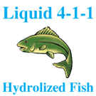 Liquid 4-1-1 Hydrolyzed Fish Fertilizer